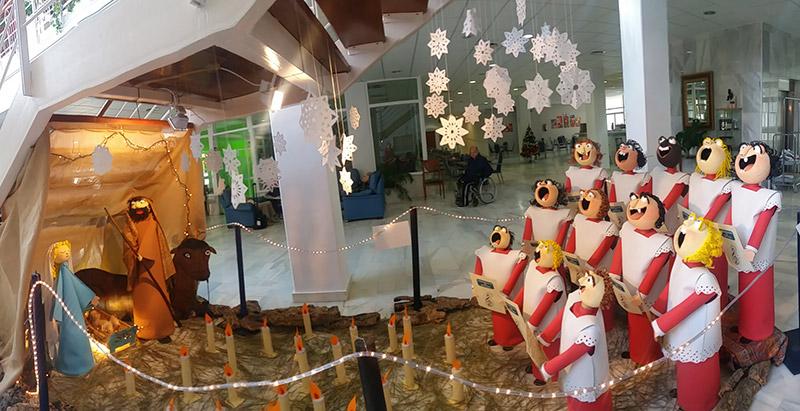 Creación de un Belén para la Navidad 2015