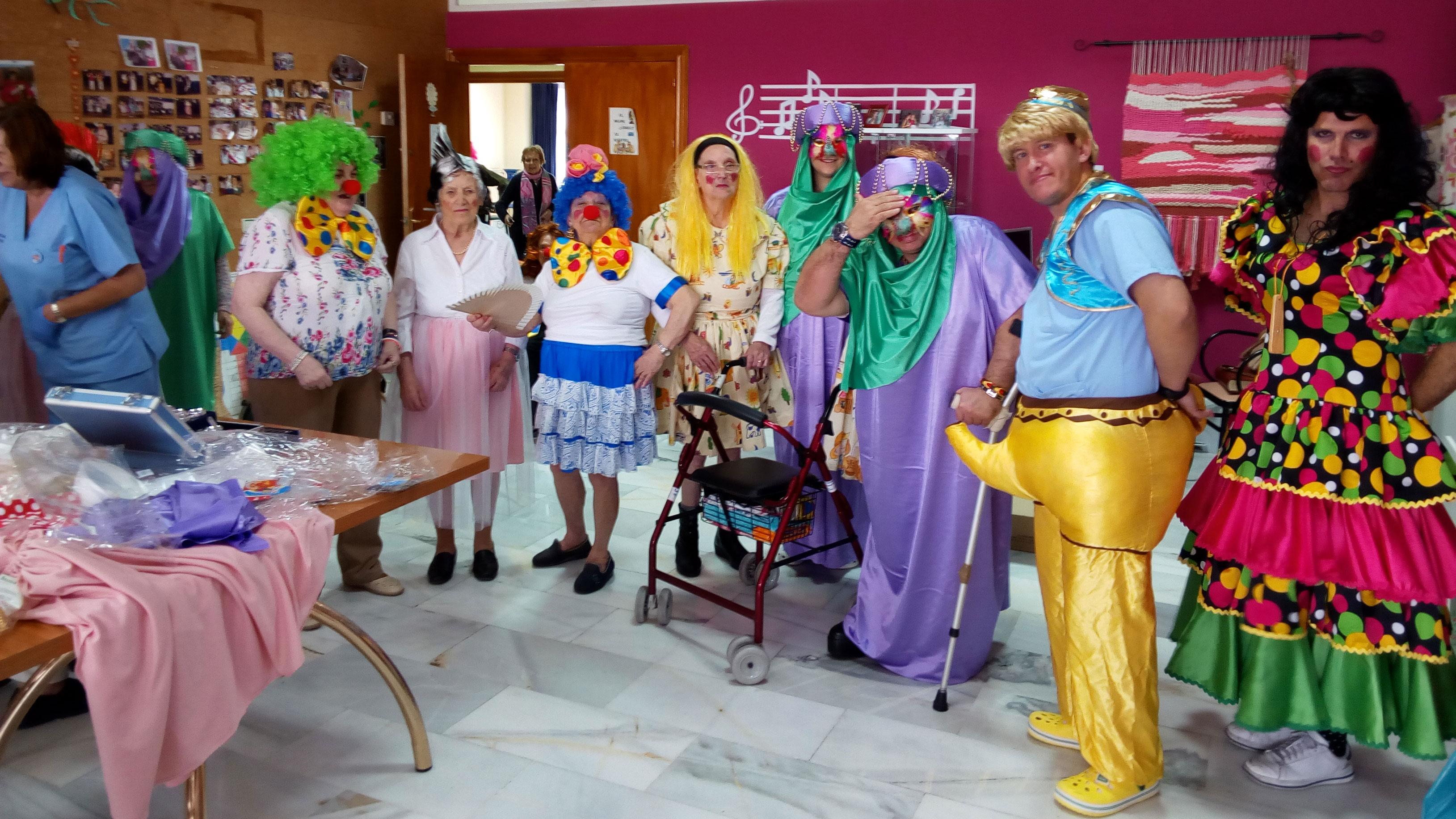 Carnaval en Urbanización de Mayores