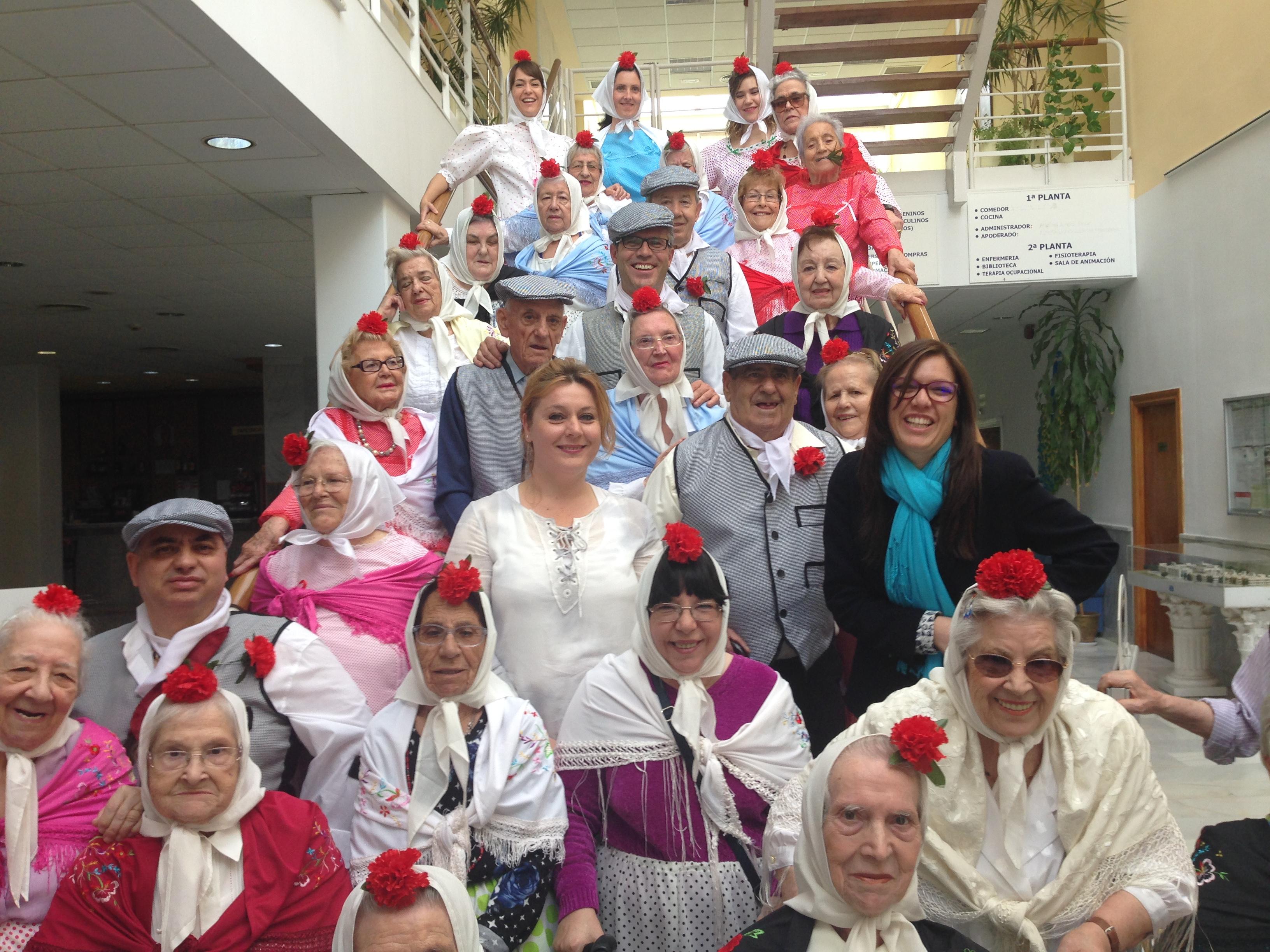 San Isidro en Urbanización de Mayores