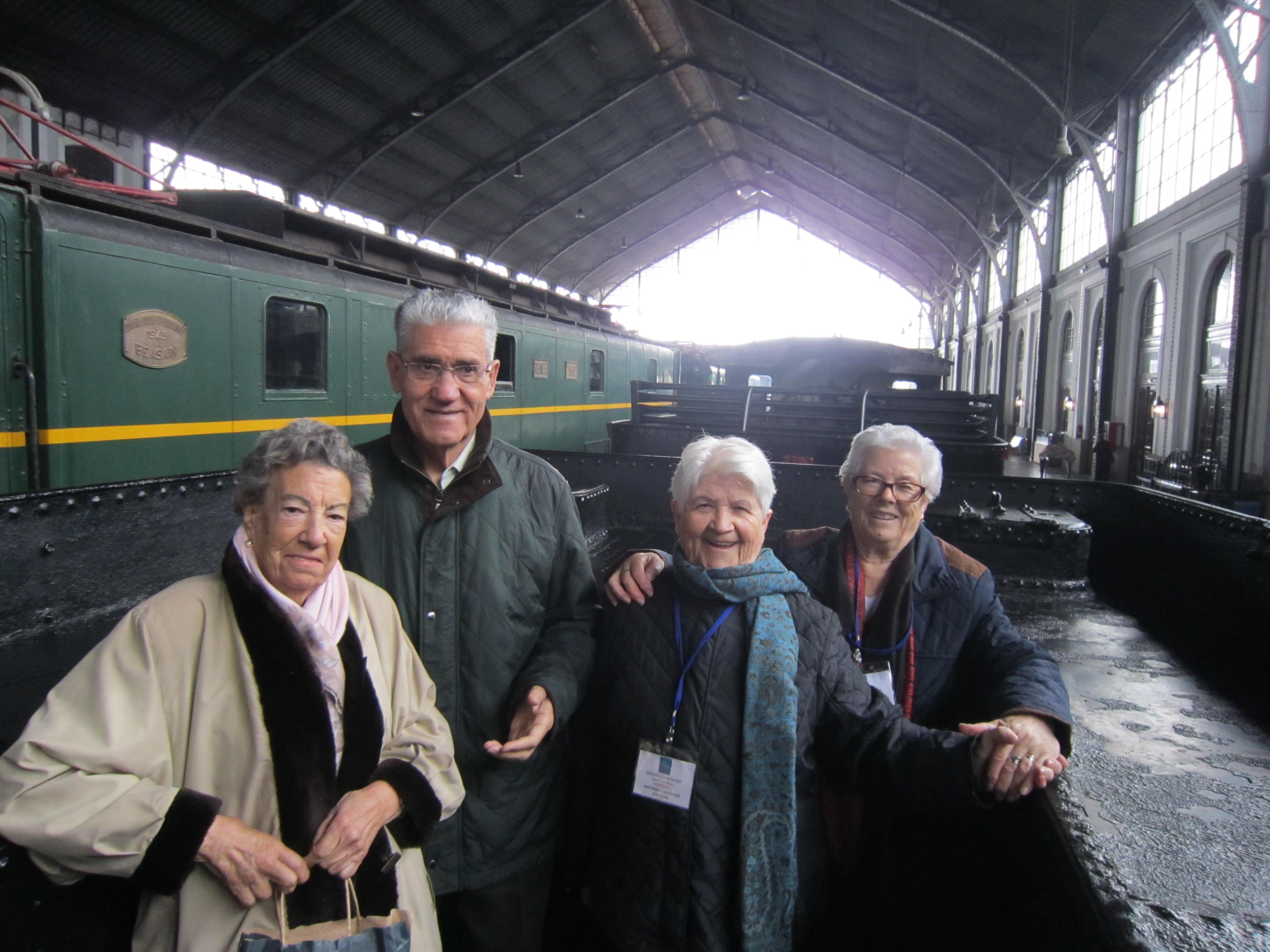Visita al Museo del Ferrocarril