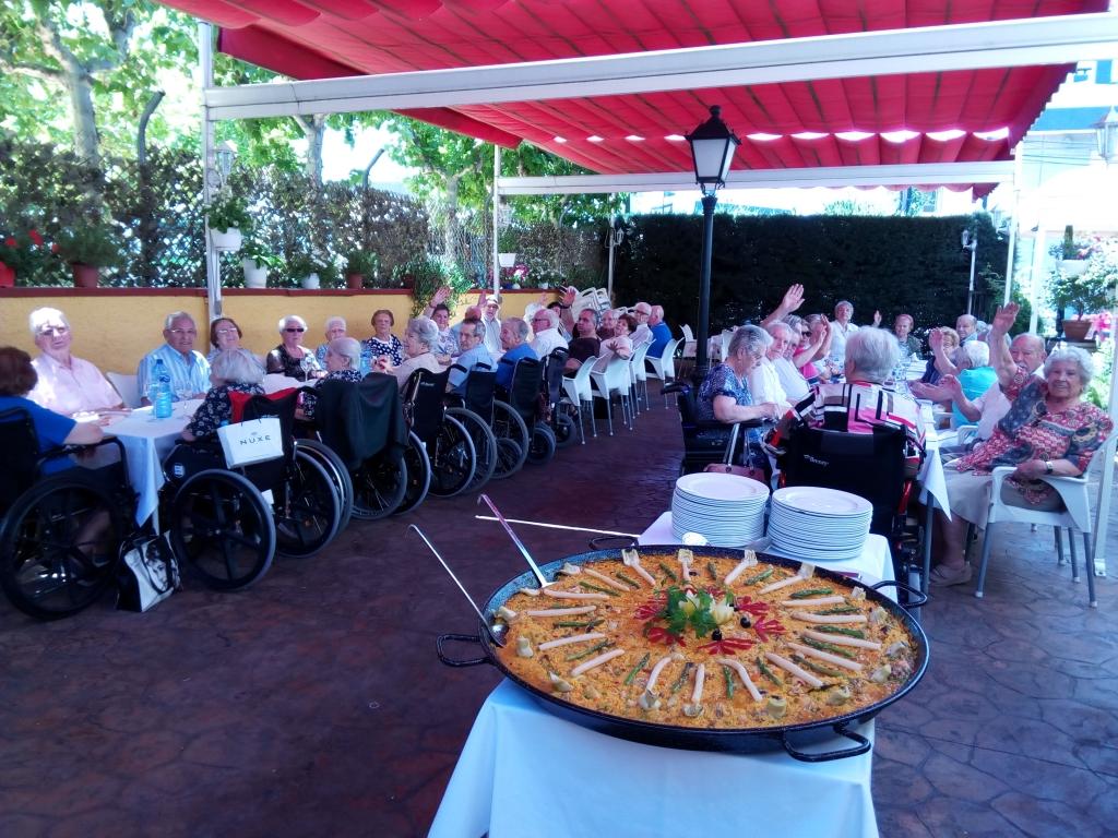 """En el restaurante """" El Ternasco """" de Sevilla la Nueva"""