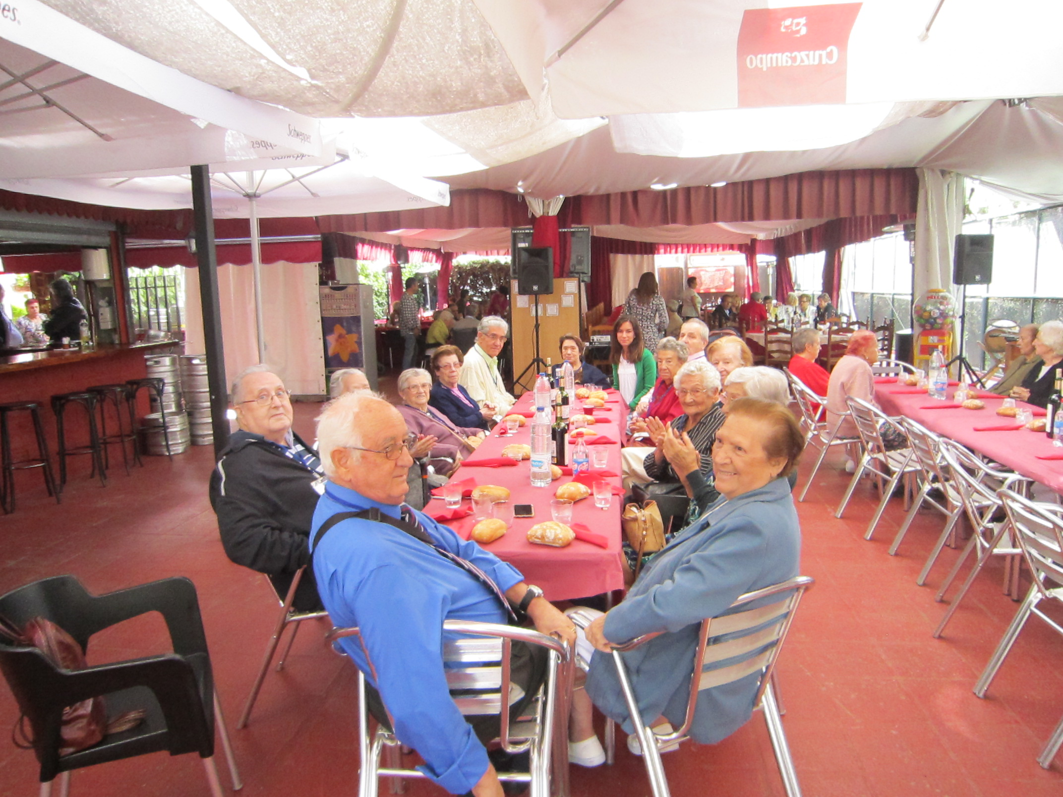Comida Popular ofrecida por el Ayuntamiento de Sevilla la Nueva con motivo de las Fiestas Patronales 2016