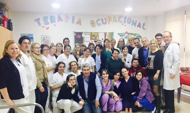 Cóctel con motivo de las fiestas navideñas en Rosalba Sevilla La Nueva