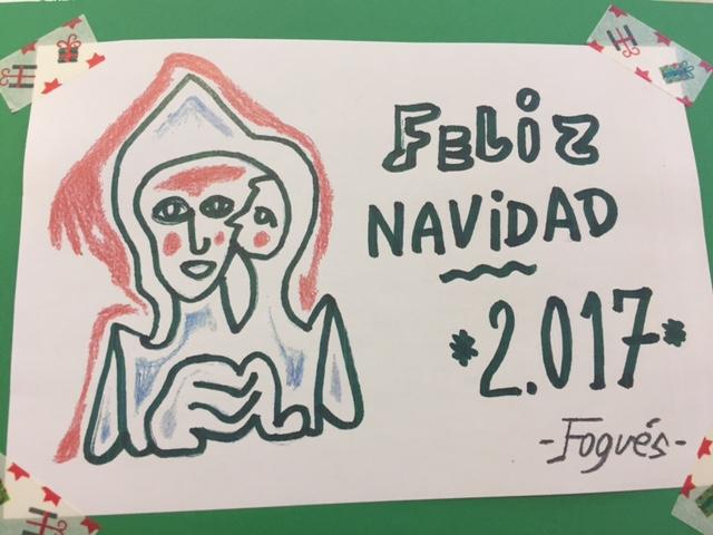 Postales navideñas en Rosalba Sevilla La Nueva