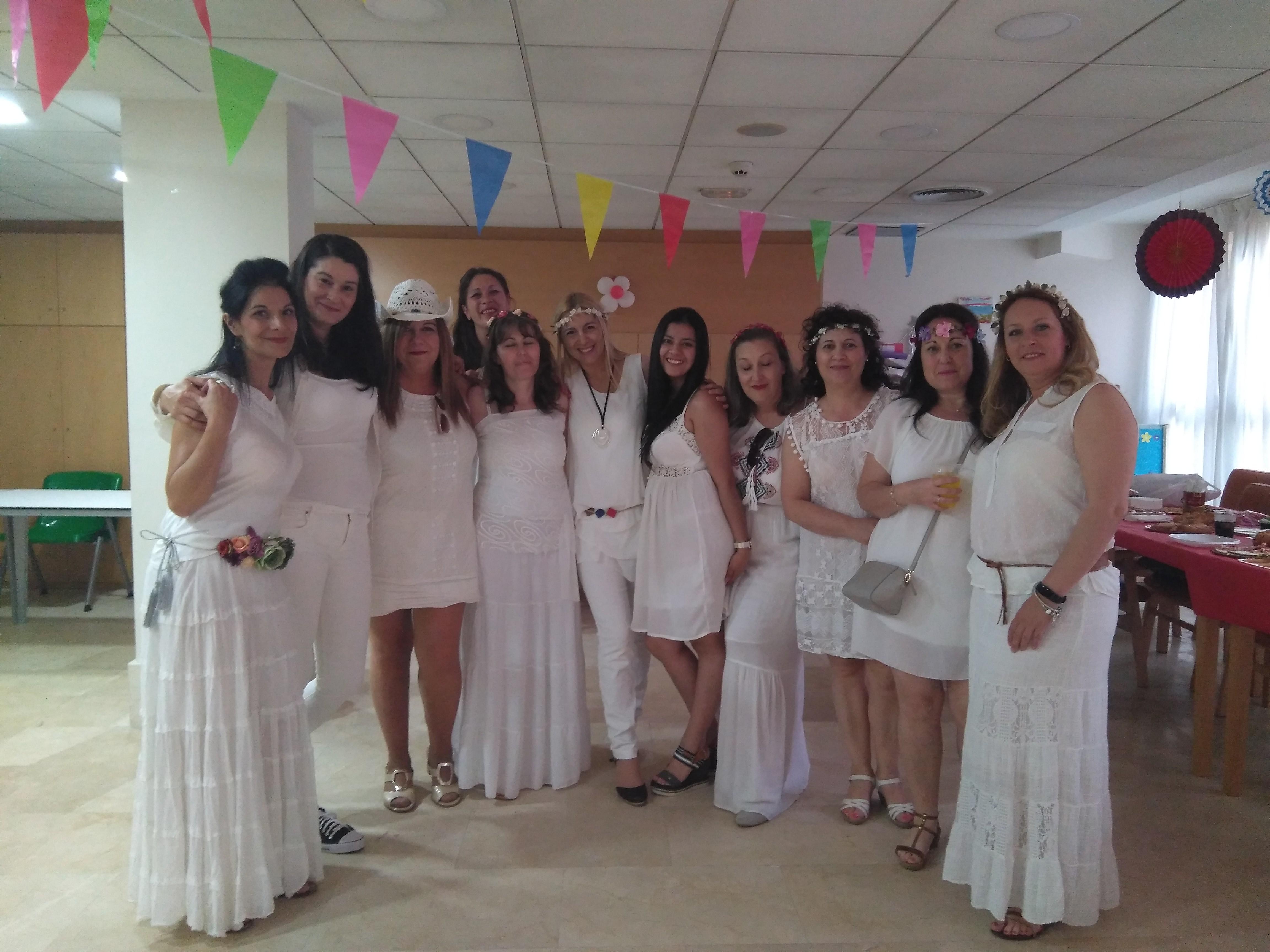 Fiesta del Personal en Rosalba Sevilla la Nueva