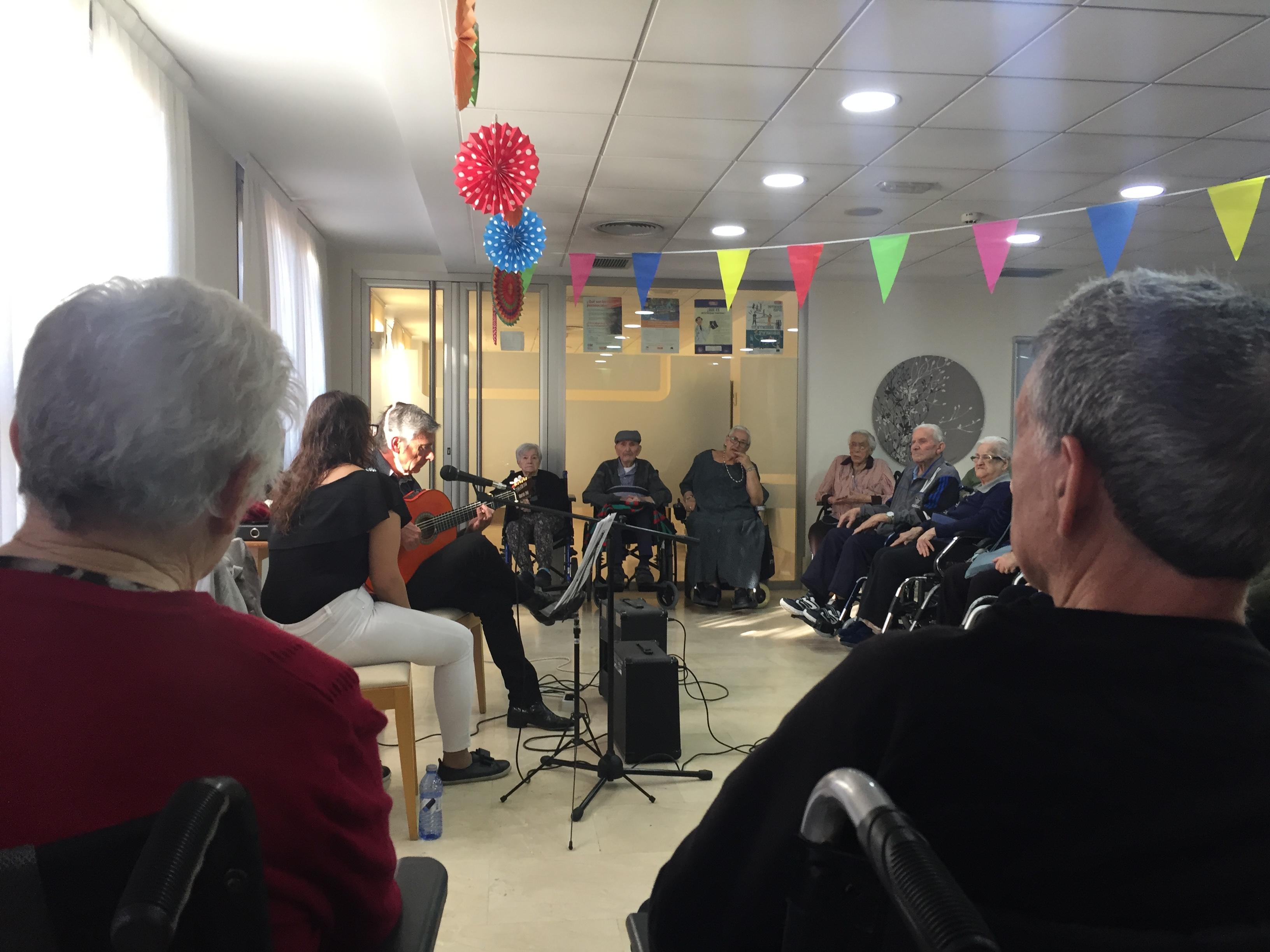 Actuación Flamenca en Rosalba Sevilla La Nueva