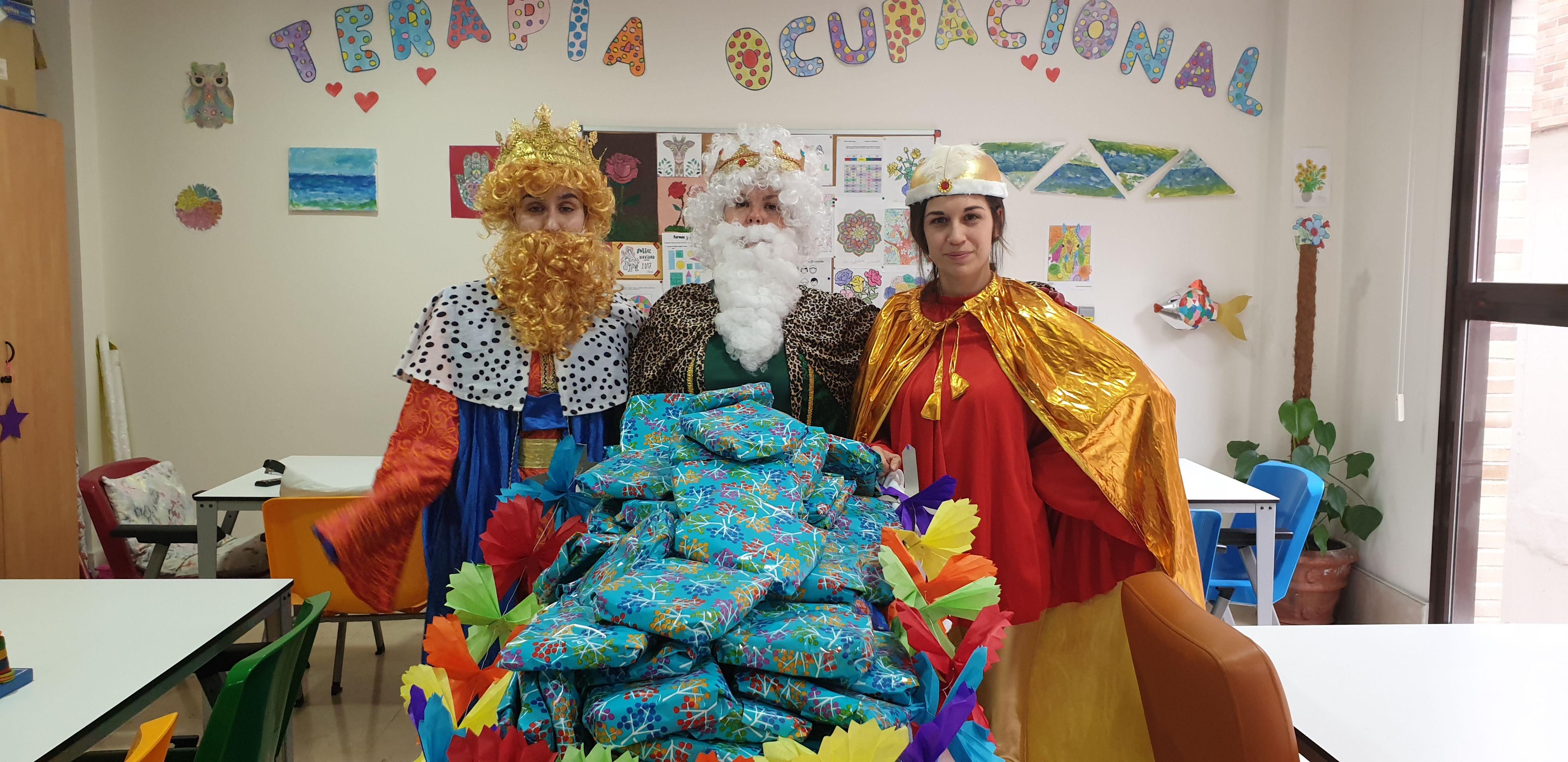 Los Reyes Magos también han pasado por Rosalba